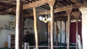 الاعمدة الاضافية التي تعمل على تدعيم السقف ومنعه من السقوط